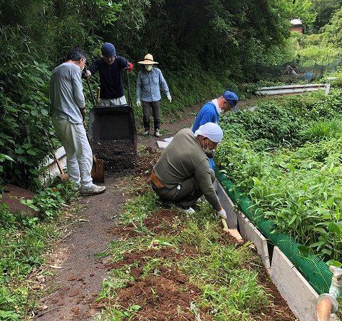 <写真NEWS>5-30:白波小道・第4期工事